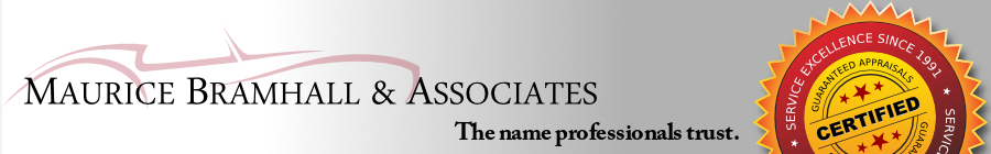 Professional Car Appraisals by Maurice Bramhall and Associates