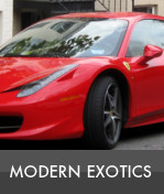 valuations for modern exotics cars